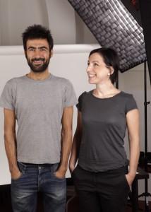 katia Bocchi e Marco Gambula di Vicolopagliacorta ritratti da per Made in Bologna di Silvia Santachiara