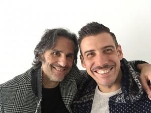 Francesco gabbano con Daniele Alessandrini