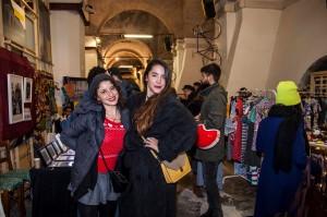 Le organizzatrici della scorsa edizione natalizia del DynaMarket