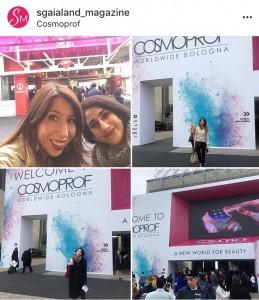 Gaia Dall'Olio e Anna Cortelazzo di Sgaialand testimoniano il loro arrivo a Cosmoprof