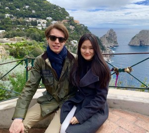 Giovanni Guerzoni e Rosa  Thi Tuyet Nhung Nguyen di Asiana