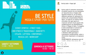 Post Instagram Kreizy su Be Style