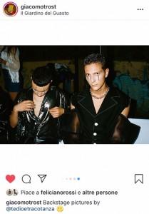 Foto tratta da Instagram