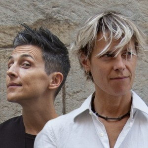 A sinistra Gaia Martinelli, Gaia Guarnieri sulla destra