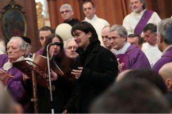 Marco Alemanno in San Petronio