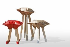 2H stool di Giulio Patrizi