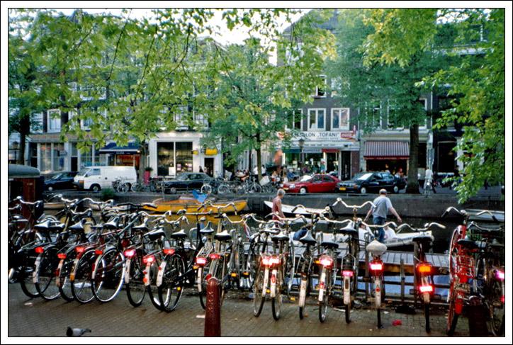 Una via di Amsterdam