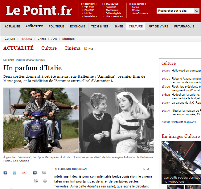 Un parfum d'Italie - Le Point