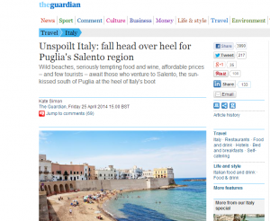 Unspoilt Italy  fall head over heel for Puglia s Salento region   Travel   The Guardian