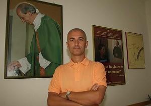 Nella foto Maurizio Artale, presidente del Centro Padre Nostro