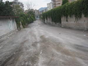 Via Palatucci prima...