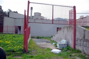 DEGRADO EX CENTRO SOCIALE SPERONE SITO IN LARGO CAMMARERI SCURTI