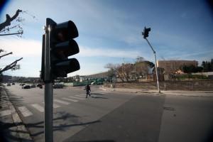 nuovo semaforo via basile