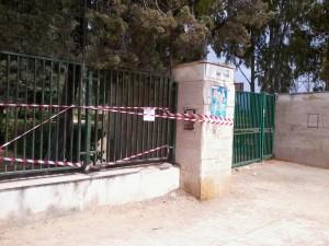 Foto Cancello Stadio delle Palme