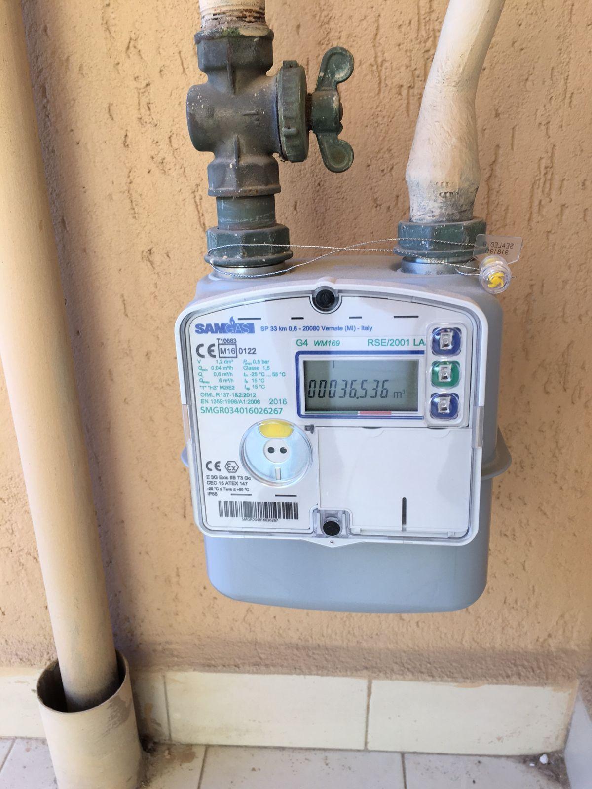 Nuovo contatore per il gas non tutti sanno come funziona for Armadio contatore gas