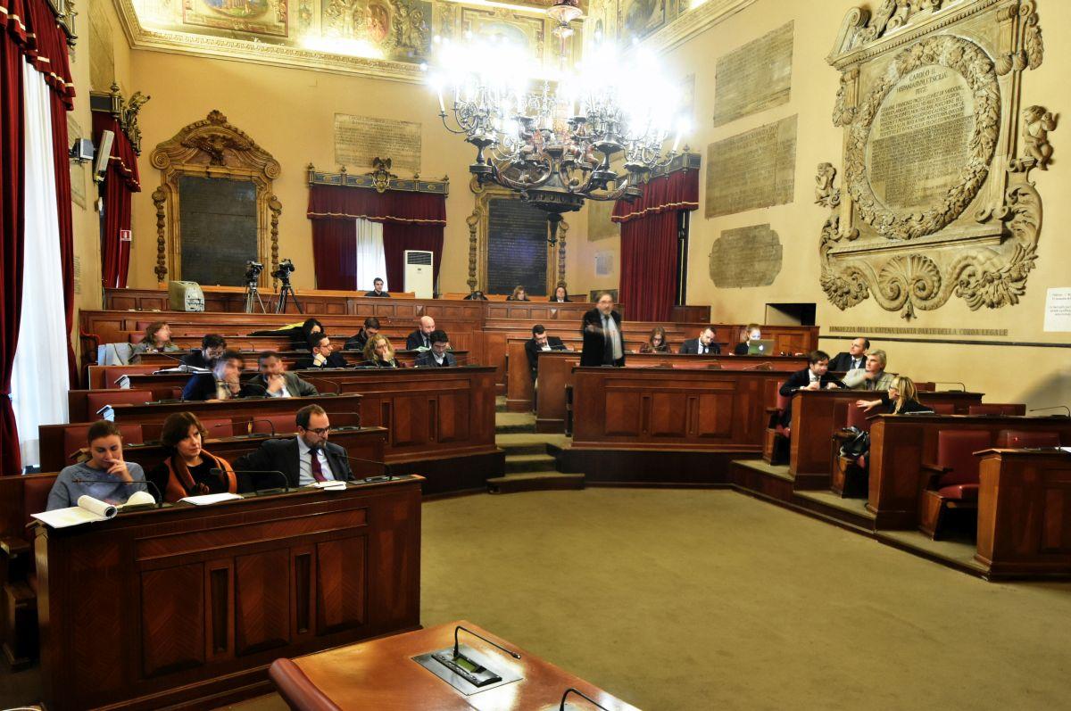 11-Gennaio-2018 Comuni: Consiglio comunale sala delle Lapidi
