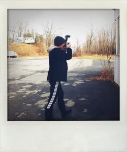 Kutner a Ellenville durante il nostro ultimo shooting