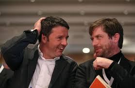 Pippo Civati con Matteo Renzi