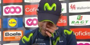 Valverde si commuove nell'intervista