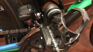 I pedali Assioma che misurano la potenza