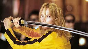 Uma Thurman in Kill Bill di Quentin Tarantino