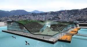 Il progetto di Ponte Parodi secondo il progetto di Berkel&Bos