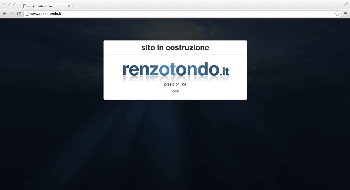 renzotondo.it