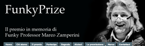 Il sito web del FunkyPrize