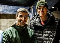 Il sindaco di Maniago Andrea Carli col capitano Lucas Gruenther Progettavano di correre insieme al maratona del prossimo 14 aprile a Vienna