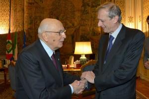 Quirinale: Napolitano riceve delegazione Anci