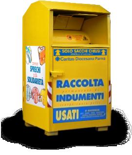 more photos 6c2a7 0cf4e Folli : regolamentare cassonetti per abiti usati - Un Comune ...