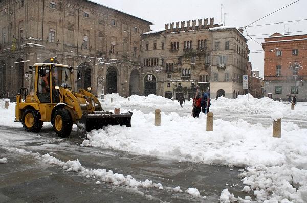 Neve a Parma