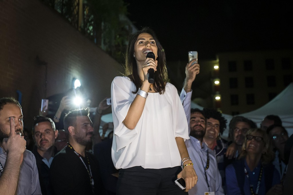 Virginia Raggi, new Rome's Mayor