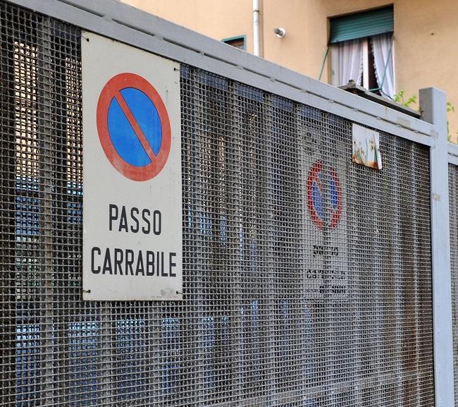 PEGASO - GENOVA-CARTELLO PASSO CARRABILE - GENOVA-CARTELLO PASSO CARRABILE