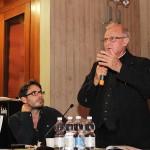 da sinistra Alberto Cancian e padre Bruno Del Piero