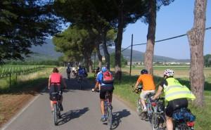 ciclovia-ventimiglia-roma-ciclisti