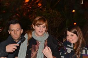 Chiara sulle strade di Sanremo