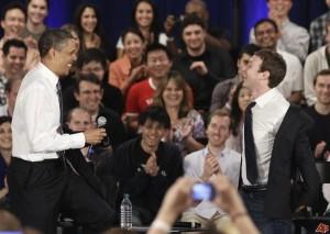 Barack & Mark, la strana coppia