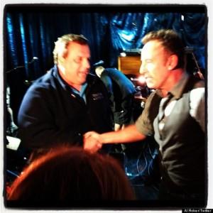 L'incontro tra Springsteen e Christie