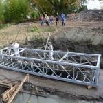 FOTO PETRUSSI - Precenicco-Rivignano 9 Ottobre 2014 recupero ed arrivo nave medioevale