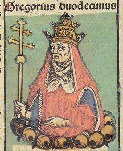Nuremberg_Chronicles_f_235v_2_Gregorius_XII