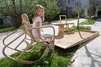 Installazione di Wyssem Nochi - Foto di Martina Bernardi