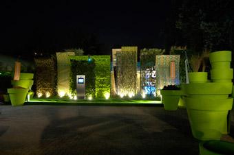 Allestimento del Kitchen Garden - Foto di Giorgio Majno