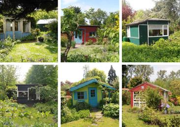 Casette negli orti-giardini - Foto di Patrizia Pozzi