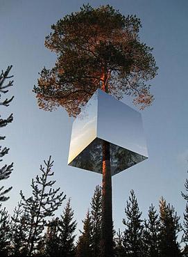 """Hotel sull'albero - da: """"http://media-cache-ak3.pinimg.com/"""""""