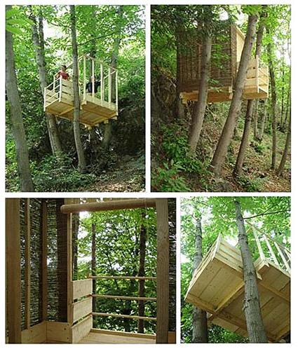 Abitare la natura ecco come paesaggi blog casa design - Come costruire una casa sull albero ...