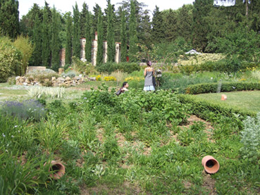 Giardino sonoro - Foto di proprietà di Architettura Sonora