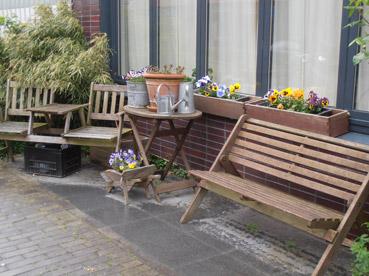 Riciclo creativo ad Amsterdam, Olanda - Foto di Patrizia Pozzi