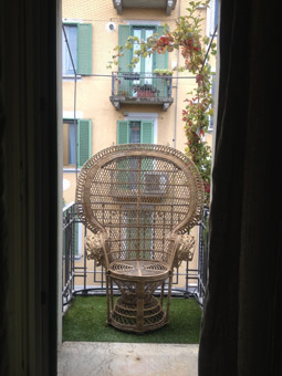 "Poltrona ""Emmanuelle"" di Maisons du Monde - Foto di Patrizia Pozzi"