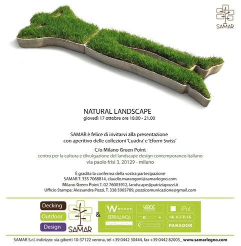 Milano Green Point presenta Natural Landscape Design